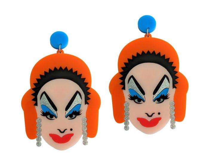 John waters divine earrings