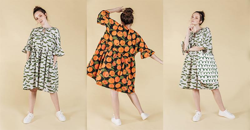 Ivy Niu dresses