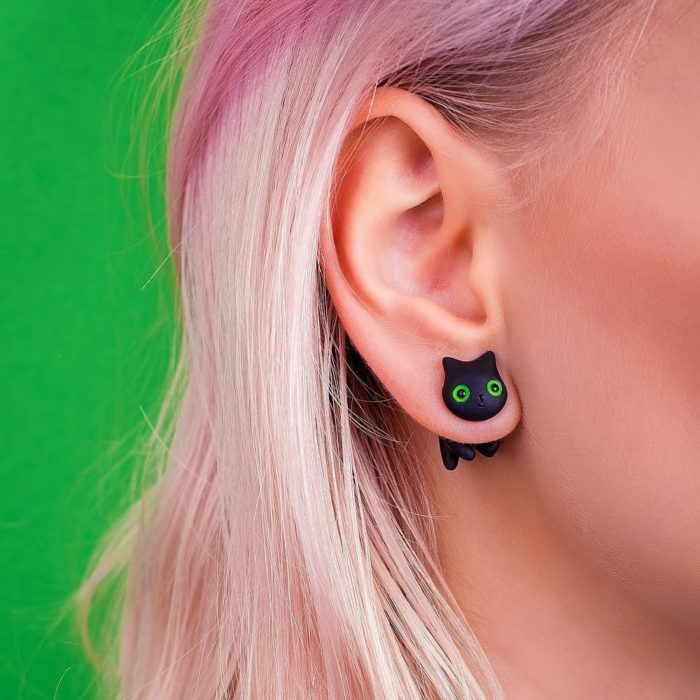 CatMade earrings