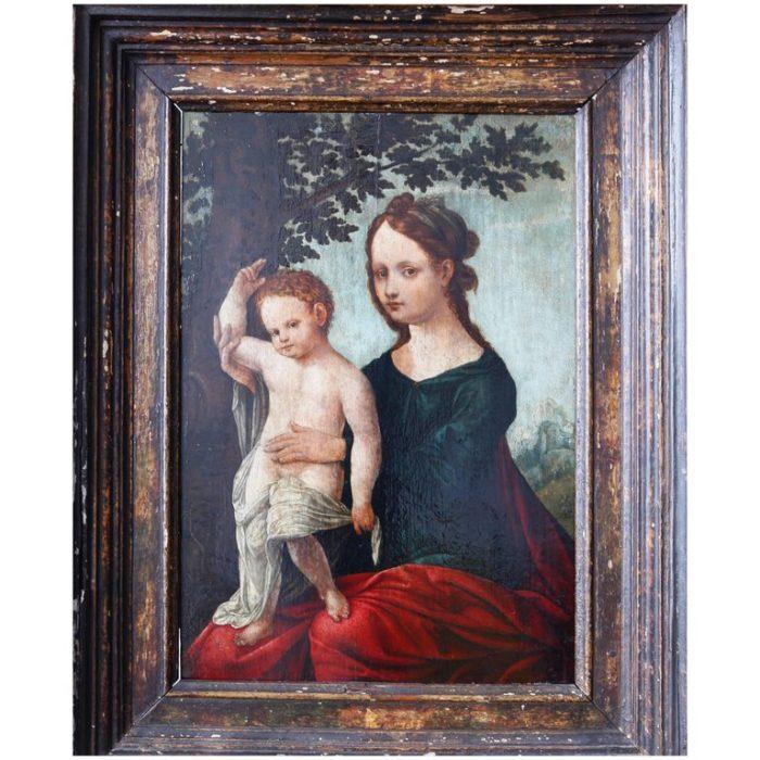 Netherlandish baby painting