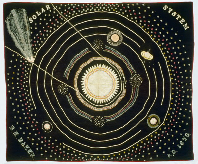 "Ellen Harding Baker's ""Solar System"" Quilt"