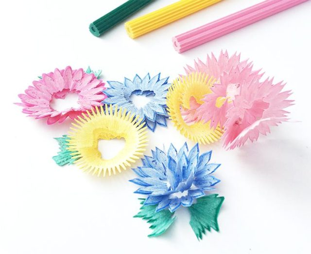 Hana Flower pencils