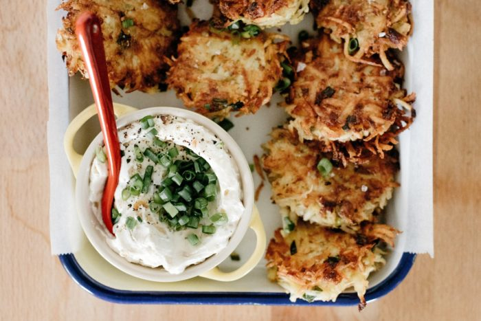 Molly's latkes