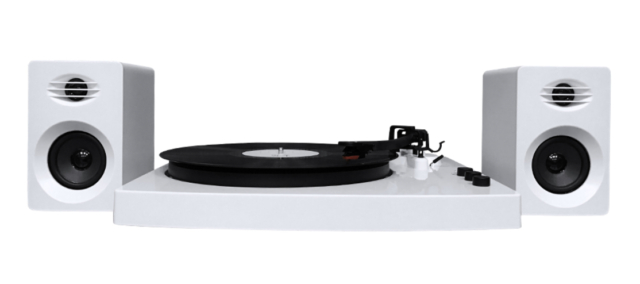 MBeat PRO-M Stereo Turntable System with Bluetooth