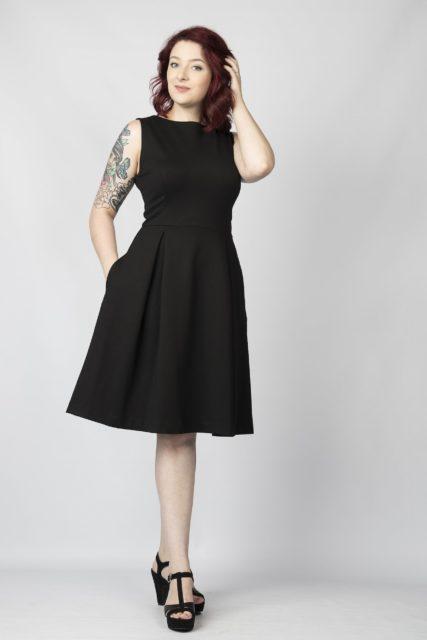 Yvonne Adele Little Black Dress
