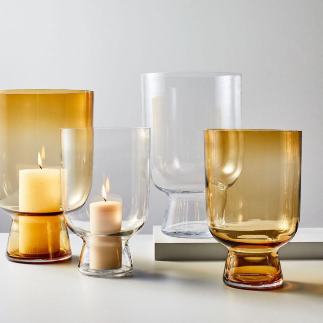 West Elm Hurricane Lamp