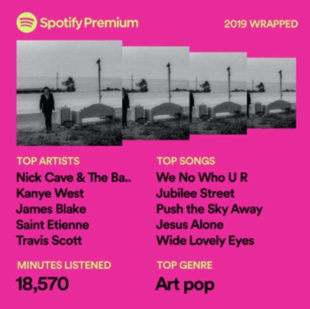 Spotify list a la Pip