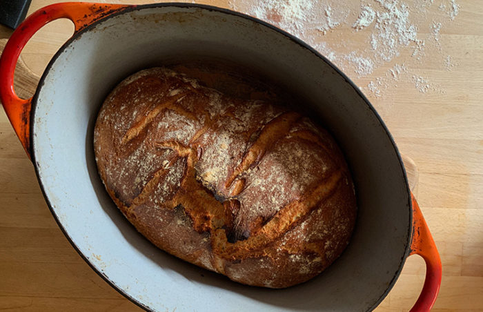 bread in a pot by pip