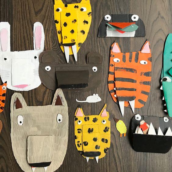 Anna Walker Cardboard Creatures