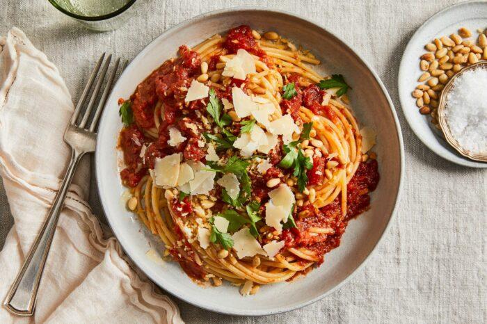 Phyllis Grant's tomato sauce