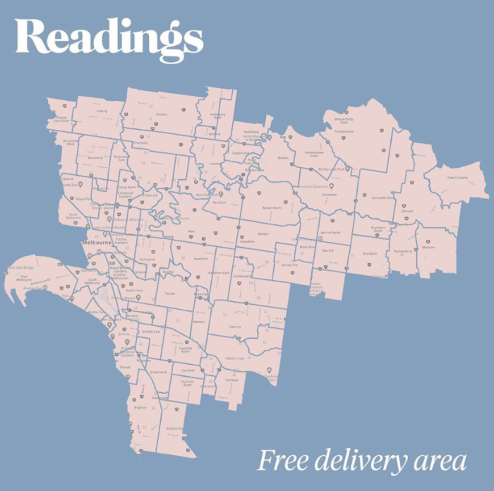Readings delivery area