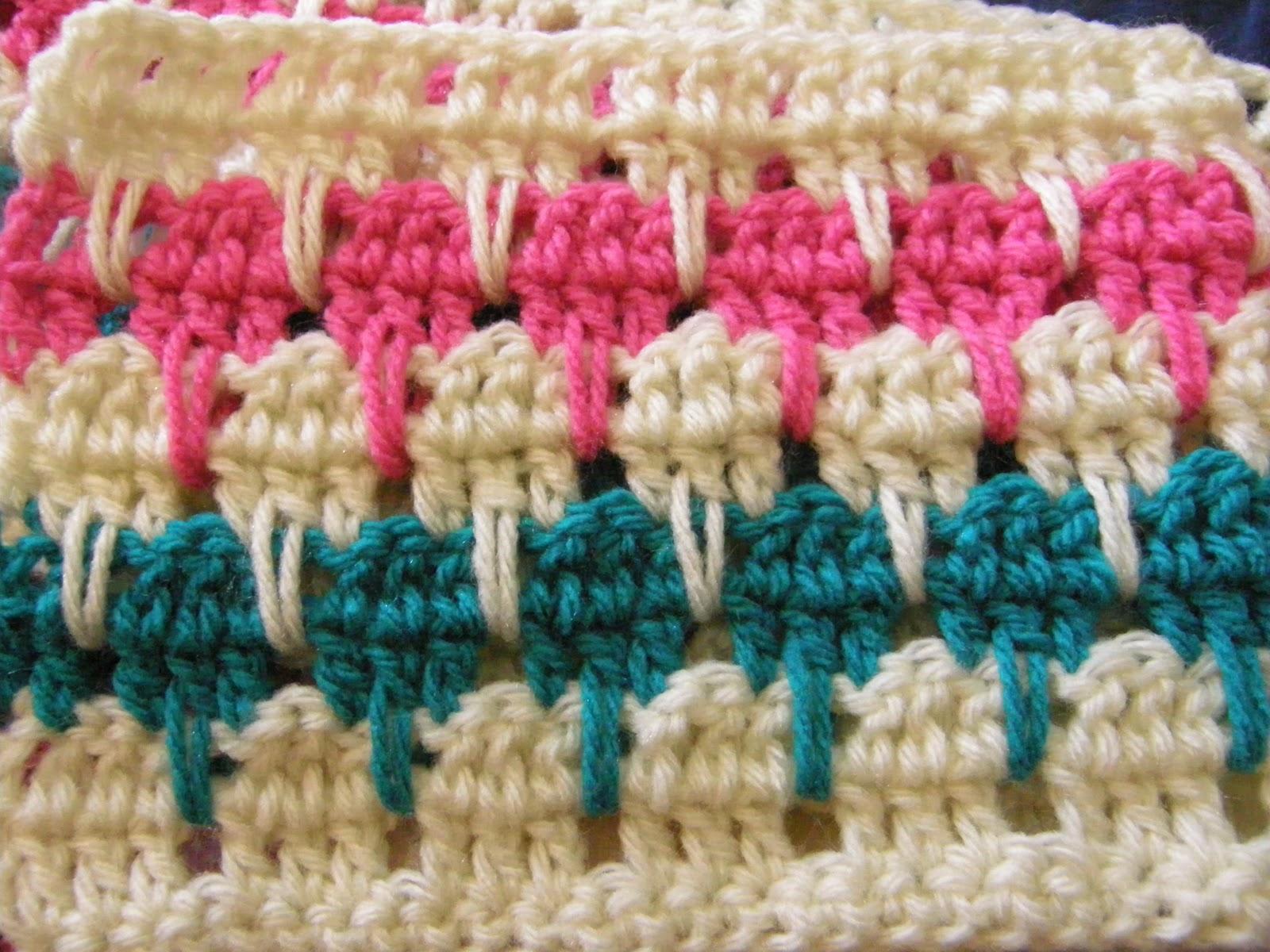 Larksfoot Crochet Afghan Pattern : :: How To Crochet A Larksfoot Blanket or An Arcade Blanket ...